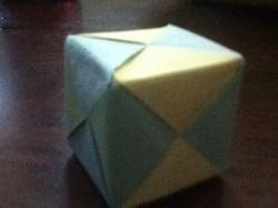 Интересно, а как сделать куб из бумаги?
