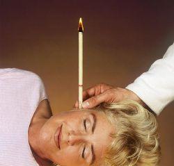 Как использовать свечи для ушей