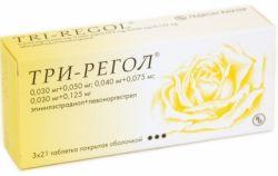"""Противозачаточные таблетки """"Три-Регол"""": инструкция по использованию"""