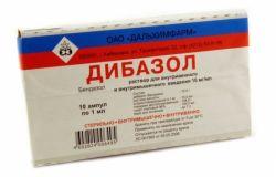 Препарат «Дибазол». Инструкция по применению