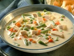рецепт сырного супа с грибами и курицей и сливки