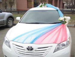 Как украсить машину на свадьбу своими руками? Украшение свадебных машин