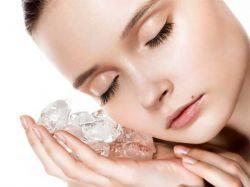 Кубики льда для лица: применение, рецепты. Польза кубиков льда для кожи лица
