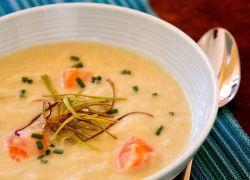 рецепты сливочный суп из лосося