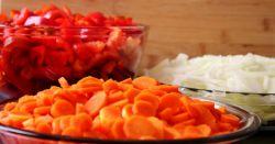 Лечо с томатной пастой - рецепт. Как приготовить лечо
