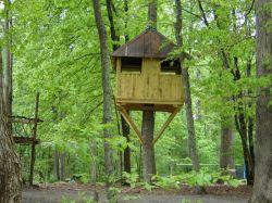 Как построить дом на дереве для детей своими руками