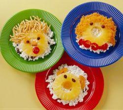 Витаминные салаты для детей с