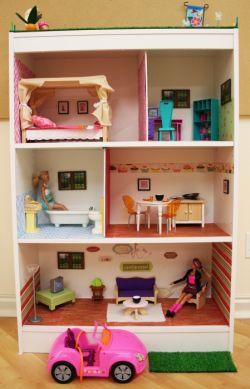 Как сделать для кукол барби мебель своими