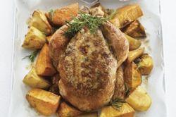 Курица в фольге в духовке. Вкусные рецепты