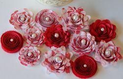Цветы из бумаги своими руками: маленькое чудо