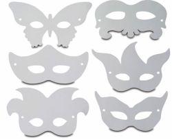 Новогодние маски своими руками. Новогодние карнавальные маски для детей и взрослых