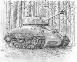 "Танк ""Шерман"": чертежи. Двигатель танка ""Шерман"""