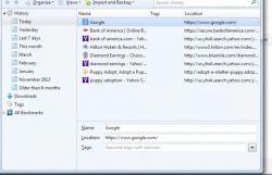 История браузера и основные операции с ней