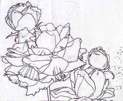 Учимся рисовать цветок акварелью (поэтапно)