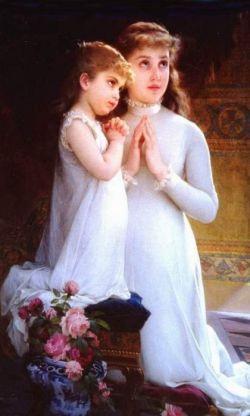 Молитва матери о дочери. Сильная молитва матери о детях