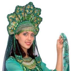 Русский народный кокошник – своими руками можно создать по-настоящему роскошное украшение!