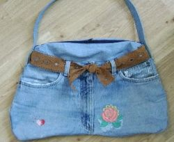 ТОП-10 того, что можно сделать из старых джинсов