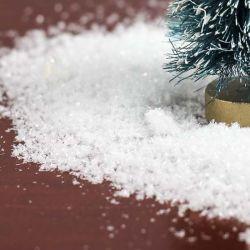 Искусственный снег: как сделать его своими руками из подручных средств
