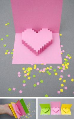 Как сделать объемную открытку на свадьбу своими руками