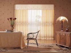 Шторы из органзы - невесомое украшение комнаты