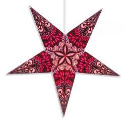 Объемная звезда из бумаги: шесть способов складывания или склеивания