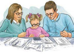 Образец заявления на налоговый вычет на ребенка
