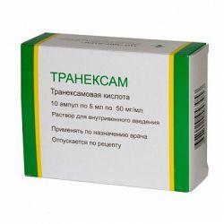Транексамовая кислота. Инструкция по применению, отзывы, описание