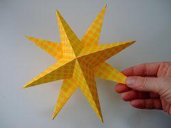 Как сделать звездочку из бумаги? Мастер-класс