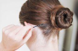 Как делать пучок на голове - простые и доступные варианты