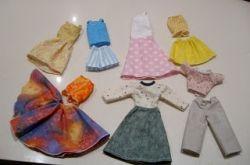 Самая простая одежда для кукол своими руками