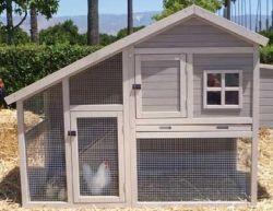 Решили построить курятник на даче