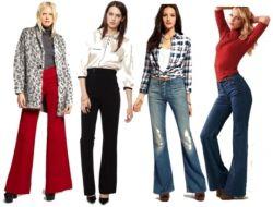 Как правильно выбрать джинсы с завышенной талией?