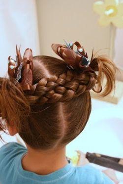 Прически для девочек - интересные идеи и простые решения!