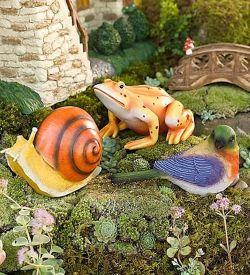 Делаем садовые фигуры своими руками